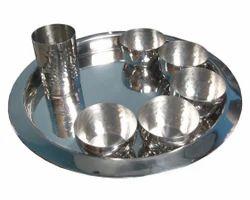 Steel Thali Set
