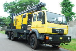 Truck Mounted DTHR Drilling Rig