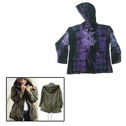 Hooded Jacket for Ladies