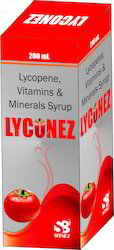 Lycopene, Vitamins & Minerals Syrups