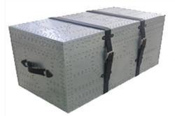 Aluminum Patch Work Trunk