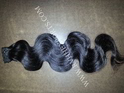 Single Drawn Human Hair Extension