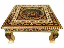 Rajwadi Chowki-Bajot/ Indian Wedding Sitting Stool