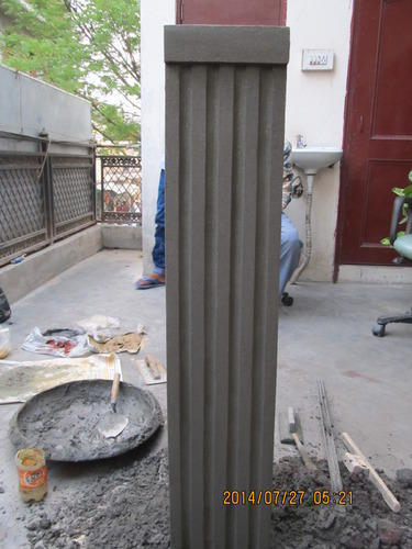 Pillar Designs Cement Tree Pillar 004 Service Provider From New Delhi