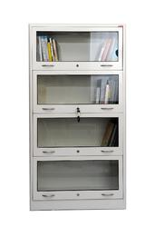 Stainless Steel Library Book Cabinet
