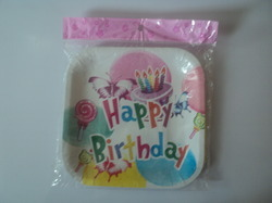 Birthday Paper Plate