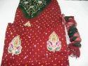 Jaipuri Bandhej Salwar Suit