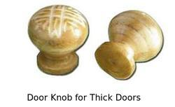 Door Knob for Thick Doors