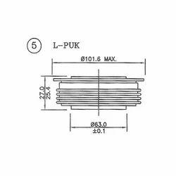 Single Phase Diode Bridge Module