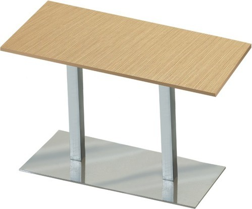 Cafeteria Stainless Steel Cafeteria Rectangular Table Rs 8000
