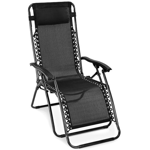 And Rexine Relax Recliner Folding Chair