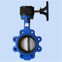 Lug Type Butterfly Valve Gear Operated