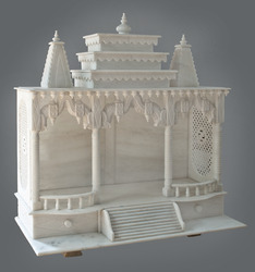 Temple In White Marble