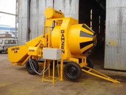 3 Bin 750 RM Reversible Drum Type Mini Mobile Batching Plant