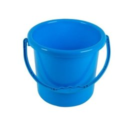 Plastic Buckets with Handles