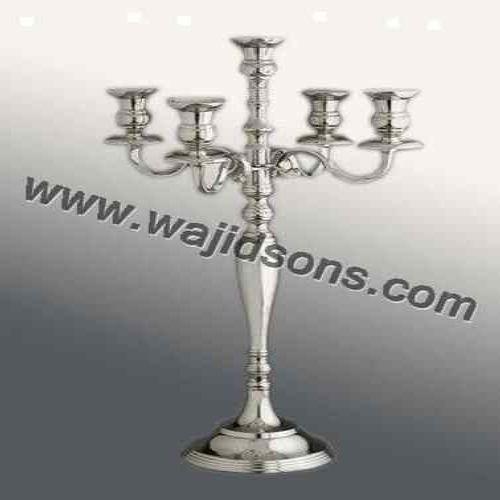 Candelabra Aluminium Candelabras Weddings Table, for Wedding and Party Decor, Size/Dimension: 60 Cm