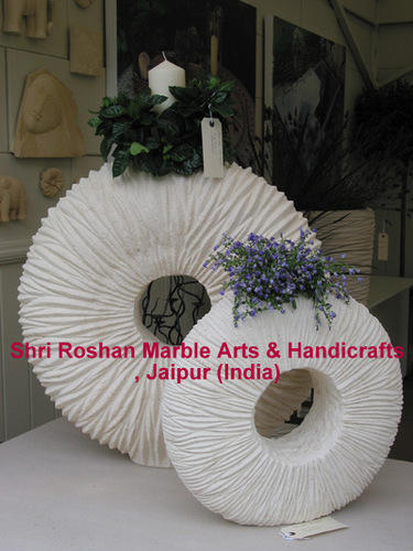 Marble Carving Planter