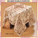 Designer Beads Table Cover