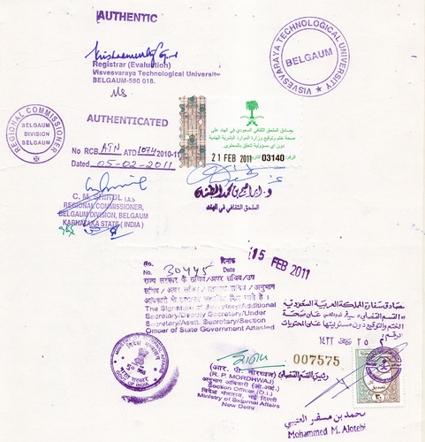 Birth Certificate Attestation in Mumbai, Andheri West by Apostille ...