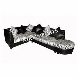 Corner Sofa Set - Rexine