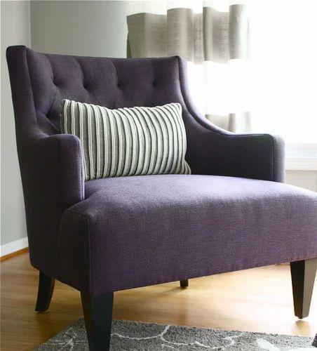 Designer Wooden Sofa Chair लकड क