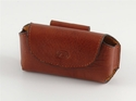 Leather Horizontal Mobile Phone Pouch