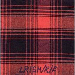 NGIRISH-R-F Indigo Yarn Dyed Checks Fabric