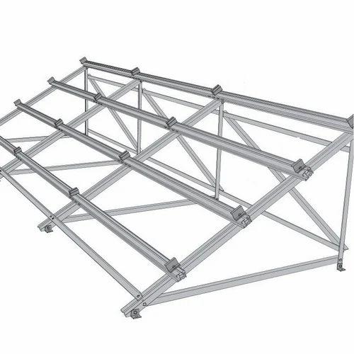 Solar Cover Panel Structural Frame - Porur Metal Works, Chennai | ID ...