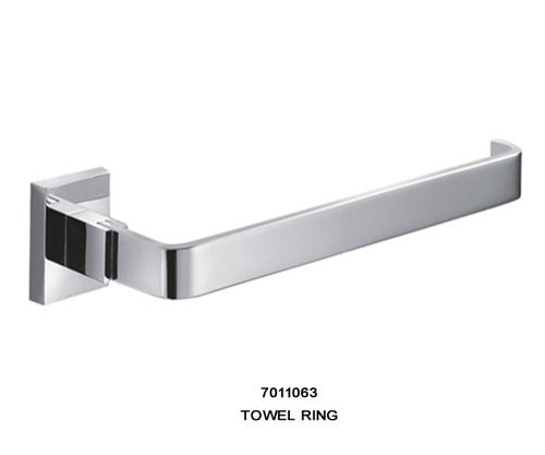 Krome Bath Accessories Towel Ring Finish Cp