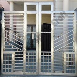 Stainless Steel Main Gates Stainless Steel Black Gate