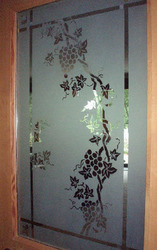 Interior Door Etching Glass
