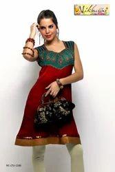 Designer Party Wear Girls Ladies Kurit Tunic