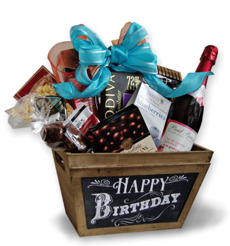 Birthday Gift Basket Hamper