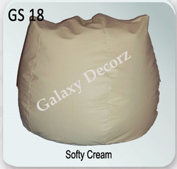 Softy Cream Bean Bag