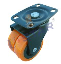 Double Wheel PU Caster