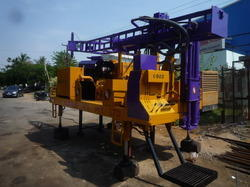 Auger Cum Rotary Method Soil Investigation Drilling Rig