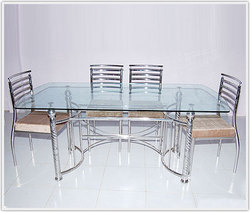 Steel Furniture Dining Table