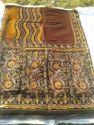 Saree Batik Print Pen Work