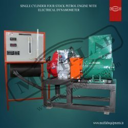 Four Stock Petrol Engine With Electrical Dynamometer