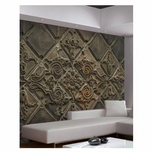 Abstract 3d Wall Murals Gloob Interior Design Pvt Ltd