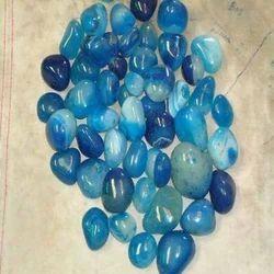 Blue Onyx Polished Pebble