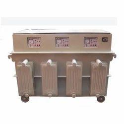 Three Phase Digital controller 15 KVA Servo Voltage Stabilizer, For Industrial, 380-415 V