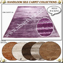 Hand Loom Silk Carpet