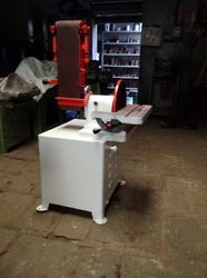 Belt & Disc Sander Machine