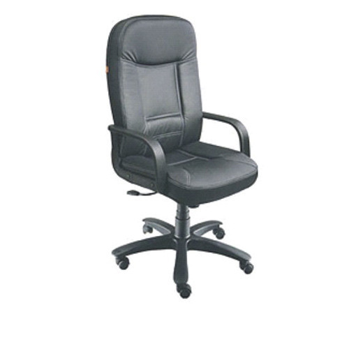 High Back Black Leather Executive Chair