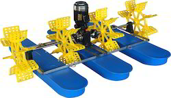 Surface Fixed Coarse Bubble Jinhulong Paddle Wheel Aerators, For Aquaculture, 3 mm