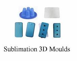 Sublimation 3D Mobile Cover Molds