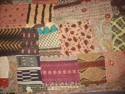 Mult Printed Vintage Kantha Quilt