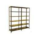 Stainless Steel Harihar Joint Slotted Angle Storage Rack, For Warehouse