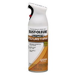 Rustoleum Ultimate Aerosols Polyurethane Wood Spray Finish / Varnish For Interior